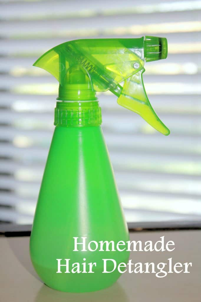 Easy Homemade Hair Detangler | homemadeforelle.com