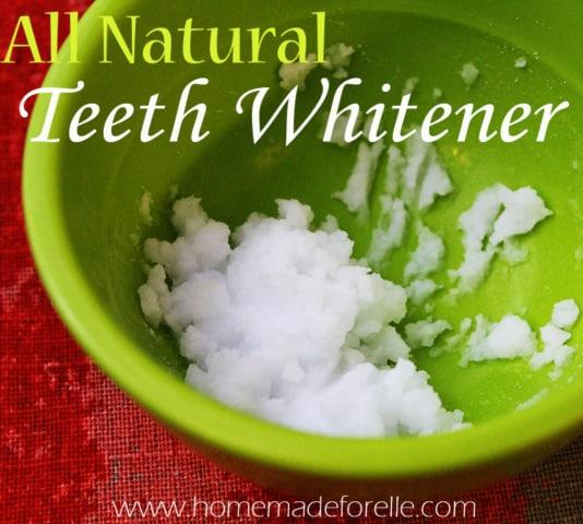 Homemade Teeth Whitener with Baking Soda