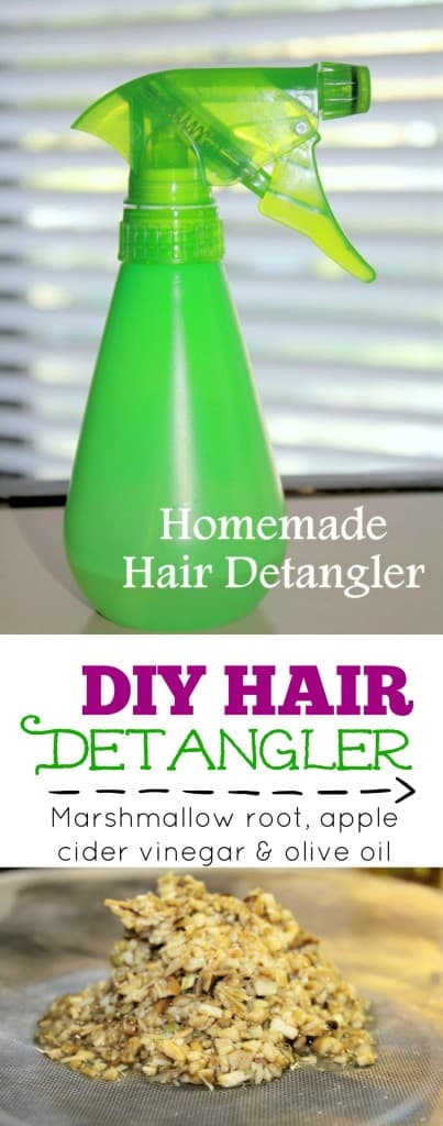 DIY Hair Detangler | homemadeforelle.com