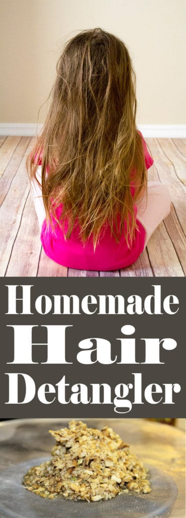 Homemade Hair Detangler | Homemadeforelle.com