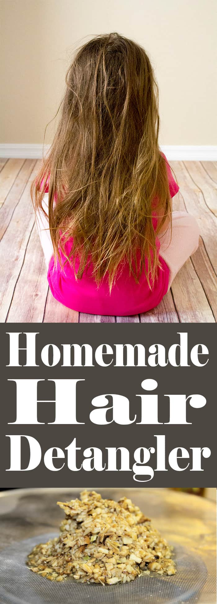 Homemade Hair Detangler