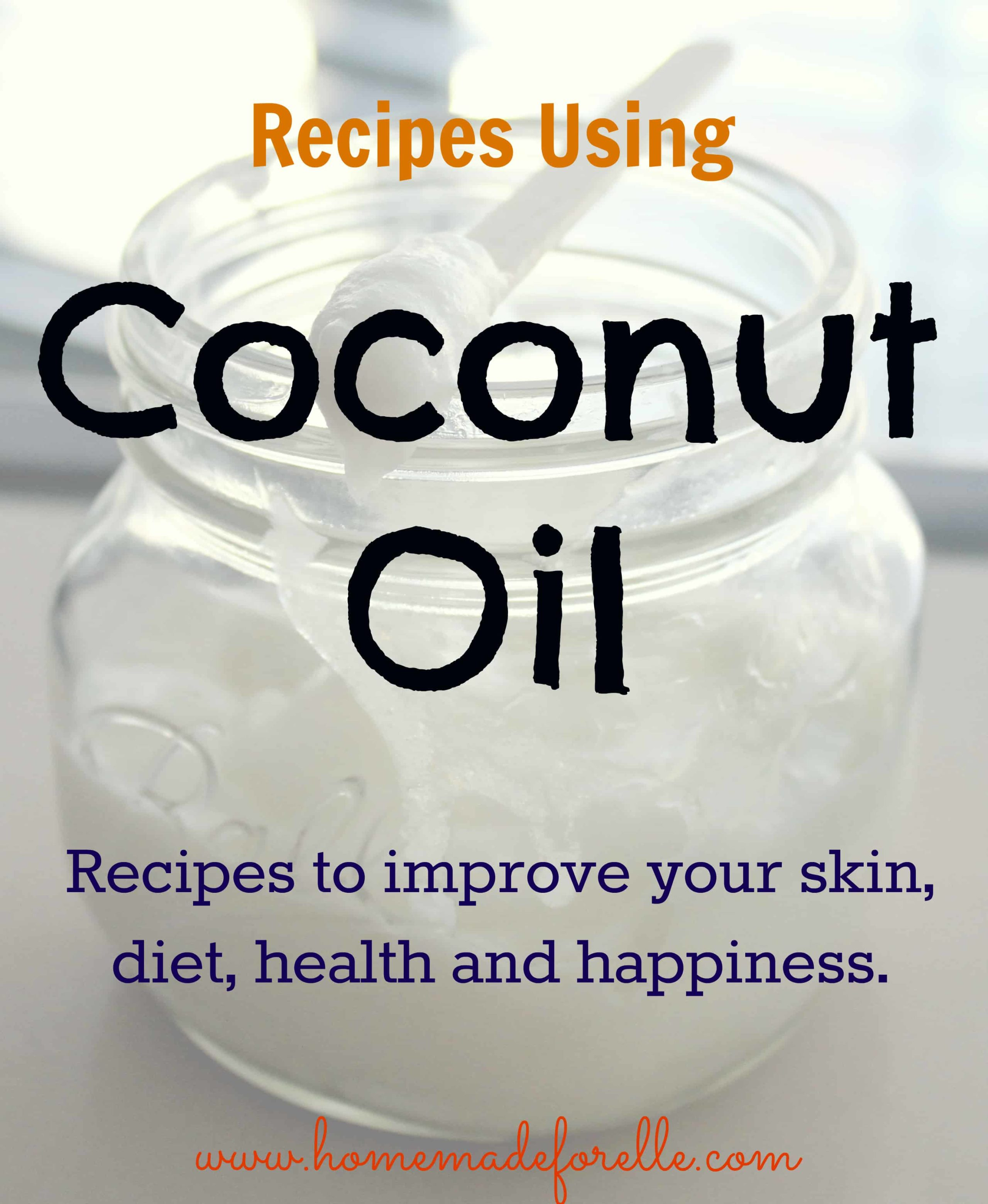 Recipes Using Coconut Oil