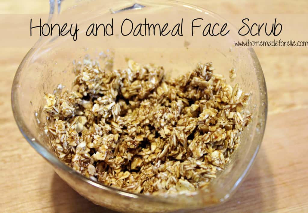 Honey and Oatmeal Face Scrub