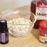 Honey and Oatmeal Facial Scrub