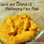 Carrot and Coconut Oil Face Mask