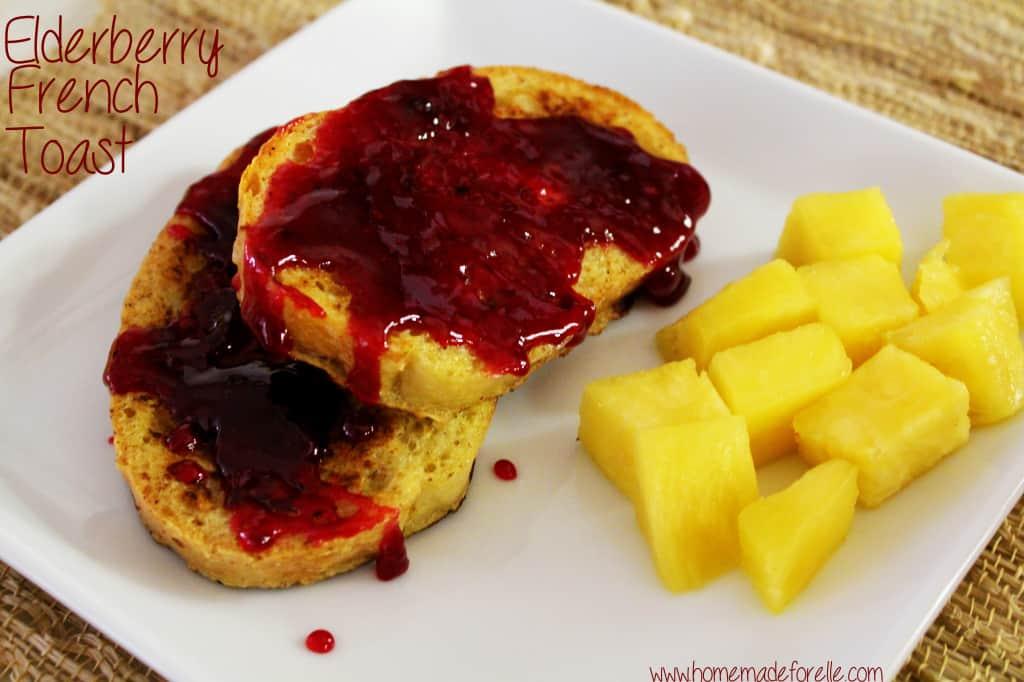 Elderberry French Toast
