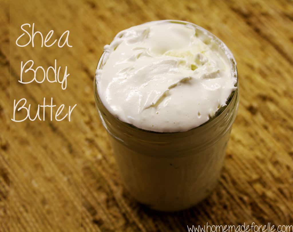 Shea Body Butter - Homemade Christmas Gifts in a Jar