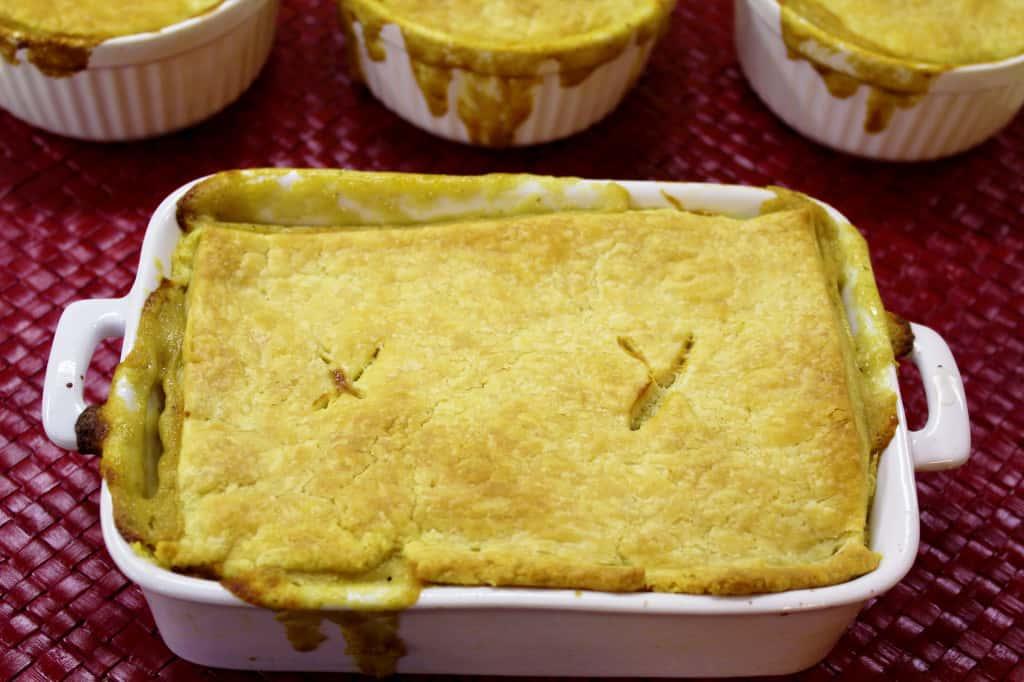 Chicken Pot Pie Rectangle