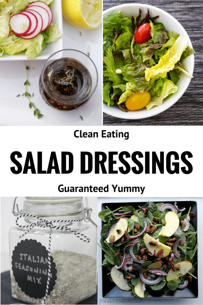 Clean Eating Salad Dressings | homemadeforelle.com
