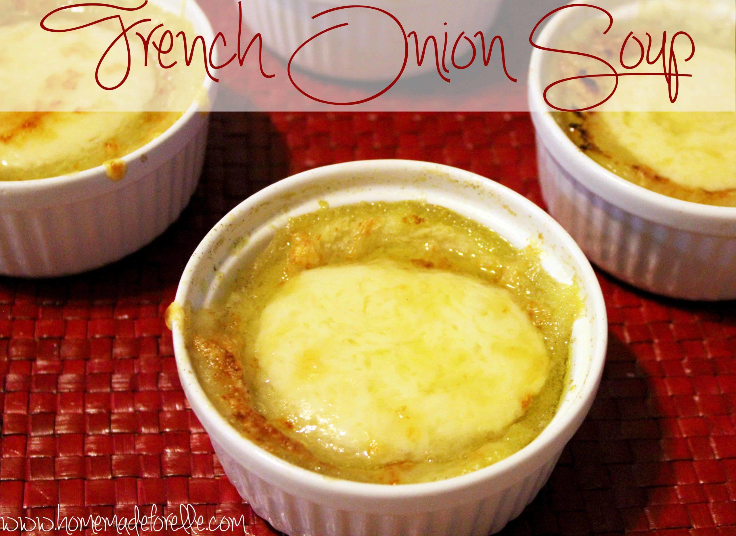 Crockpot French Onion Soup