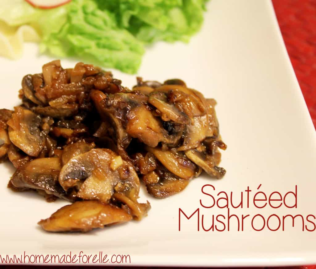 Rich, flavorful, and savory sautéed mushrooms.