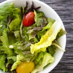 Vinegar and Oil Salad Dressing