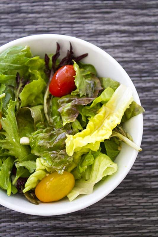 Vinegar and Oil Salad Dressing Recipe