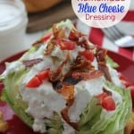 Homemade Blue Cheese