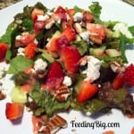 Creamy Strawberry Salad Dressing