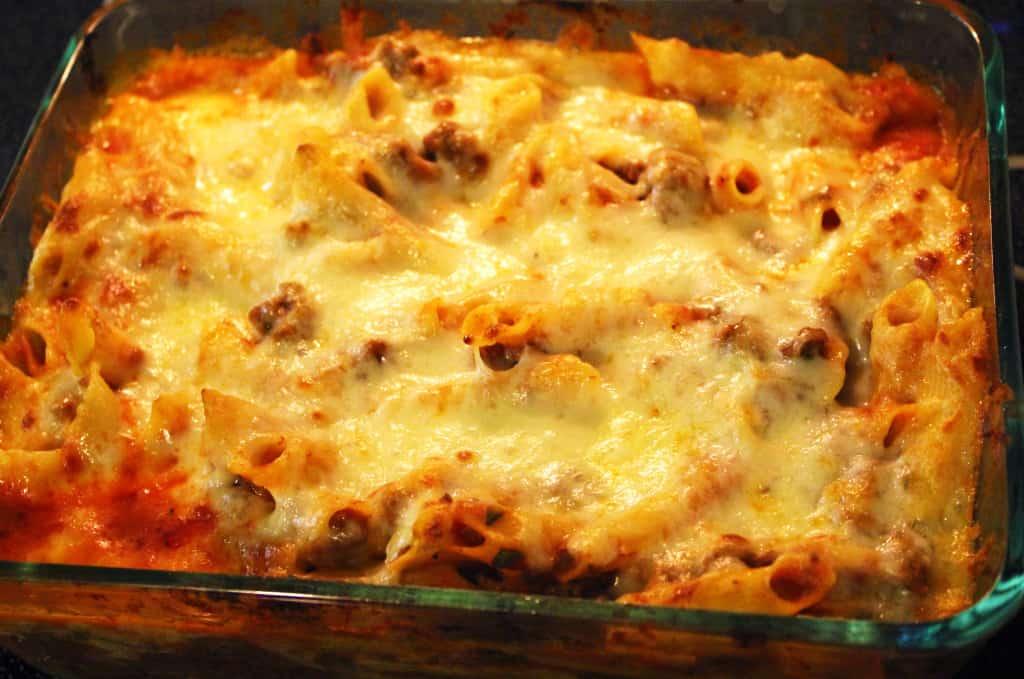 Cheesy Penne Casserole Whole
