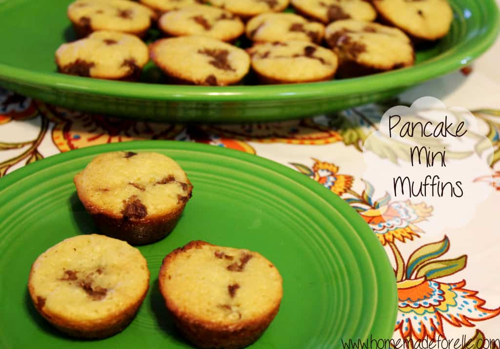 Pancake Mini Muffins - Homemade for Elle