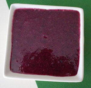 blueberry scrub