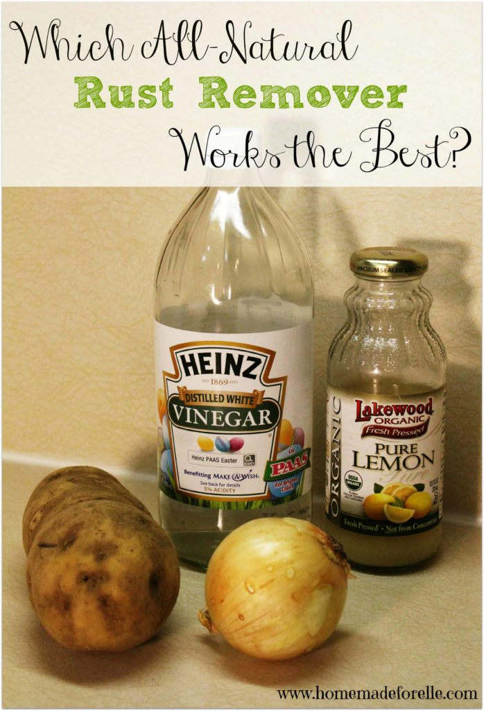 Which all natural rust remover works the best