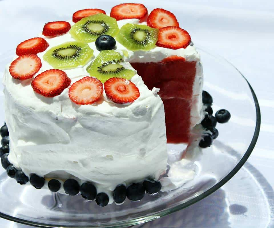 Watermelon Cake - Natural Living Mamma