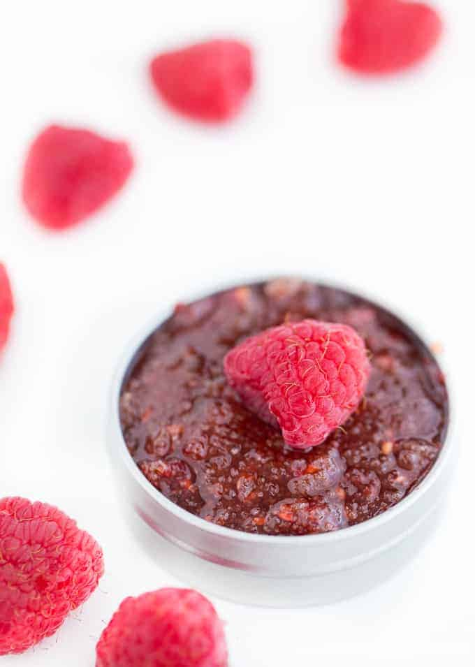Raspberry Lip Scrub Recipe