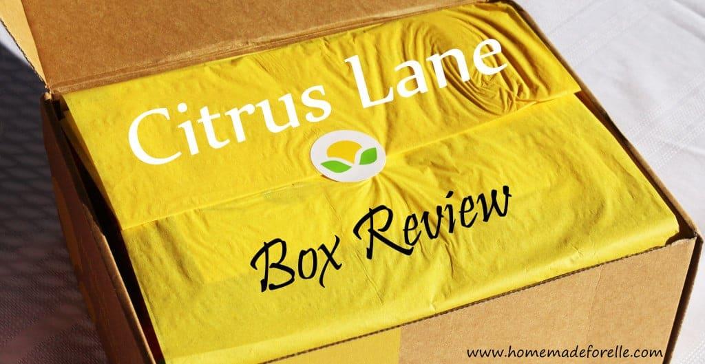 Citrus Lane Box Review