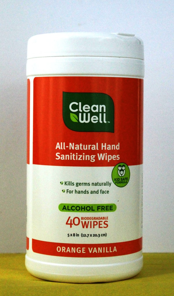 Clean Well Sanitizing Wipes