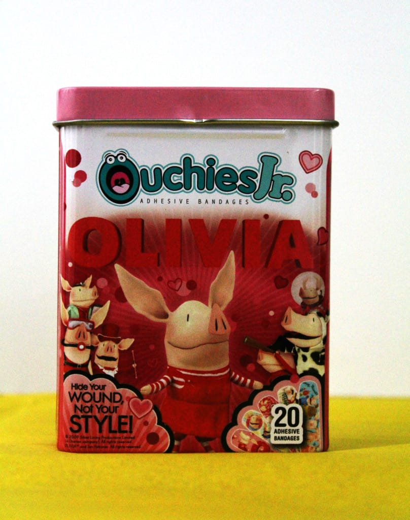 Ouchies Jr Olivia Bandaids