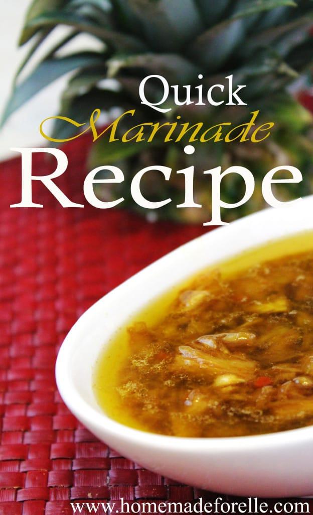 Homemade Marinade