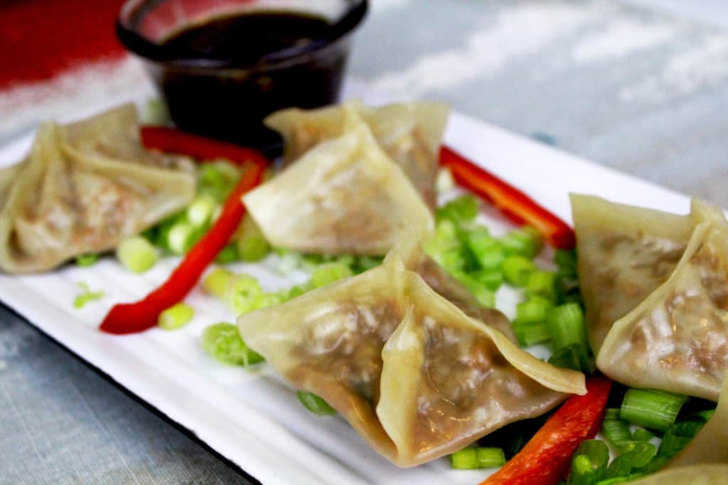 yummy potstickers