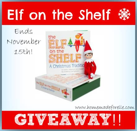 Elf on the ShelfGiveaway