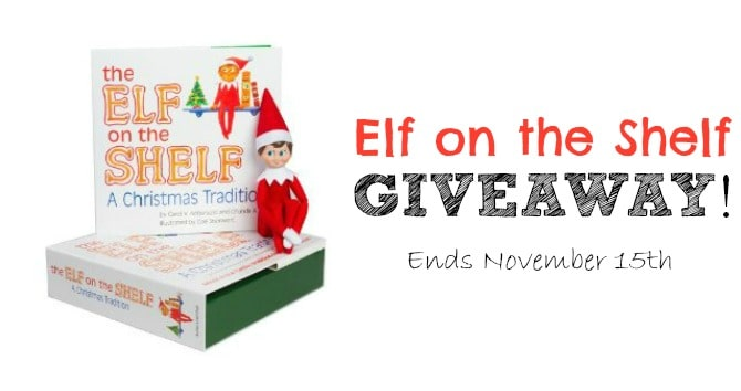 Elf on the shelf giveaway long