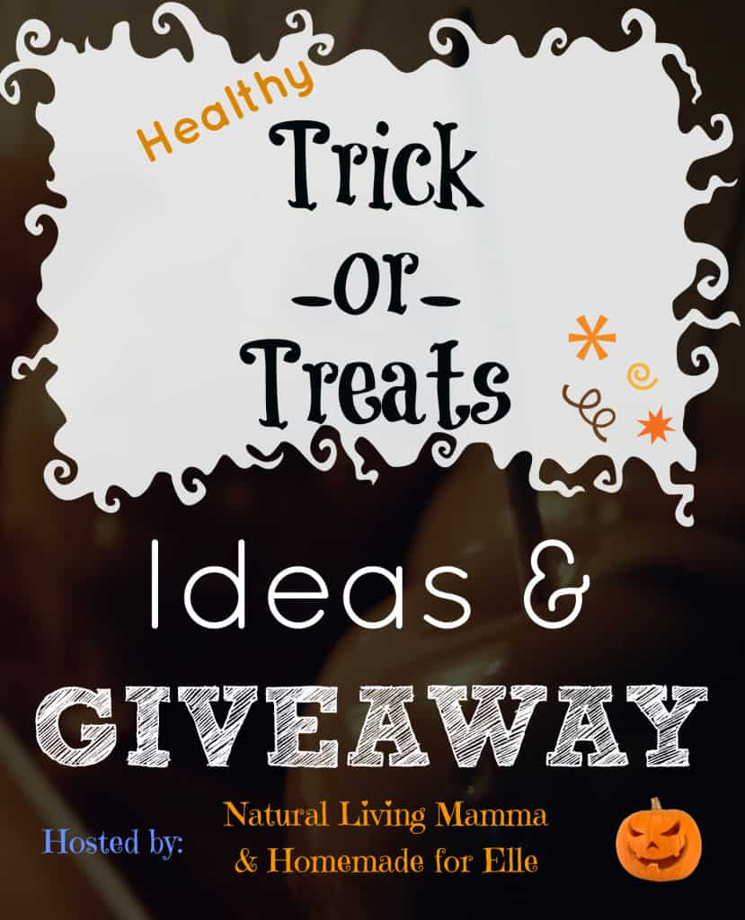 Healthy trick or treats