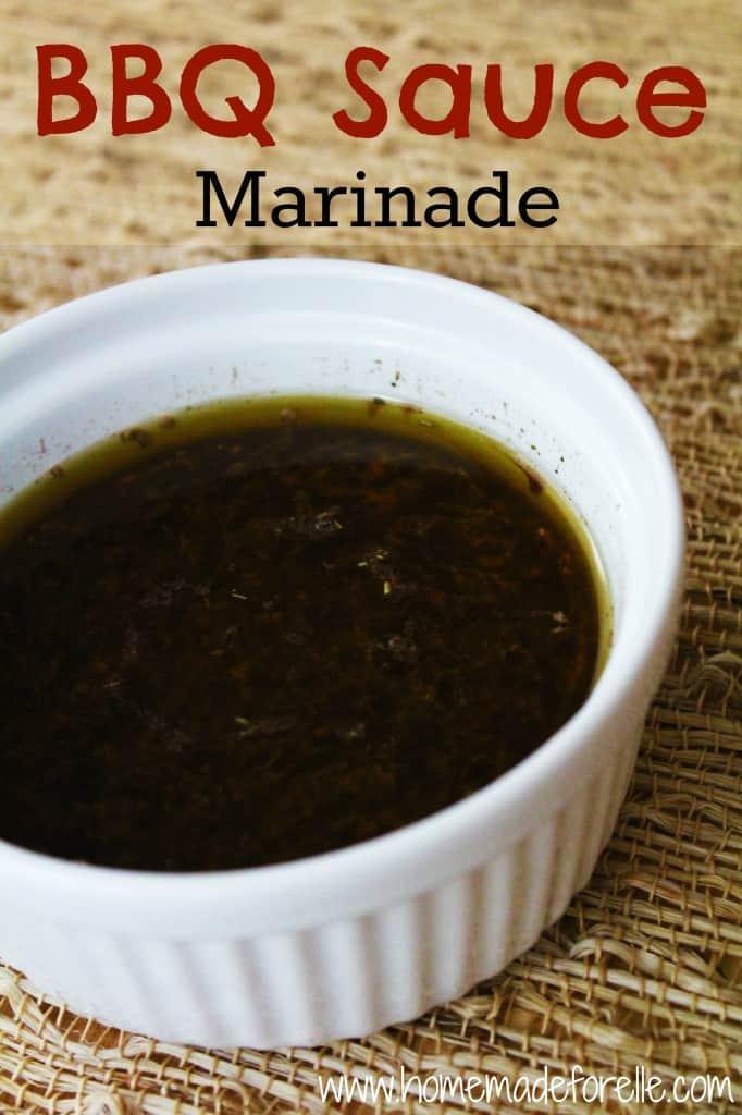 bbq sauce marinade