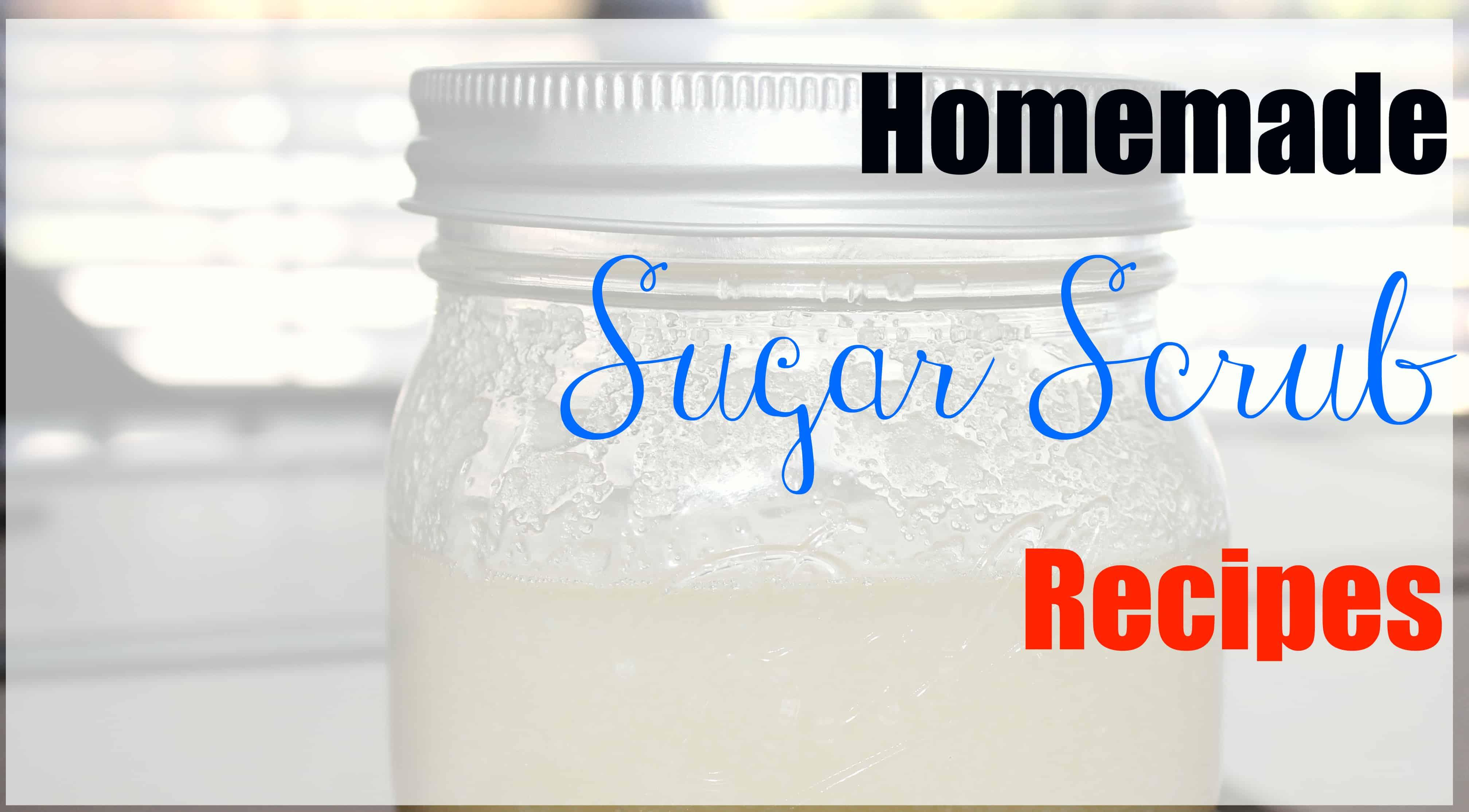 Homemade Sugar Scrub Recipe ⋆ Homemade for Elle