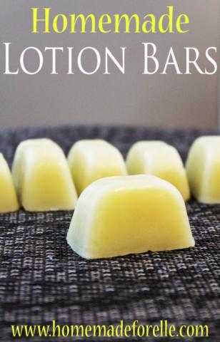 Homemade Lotion Bars