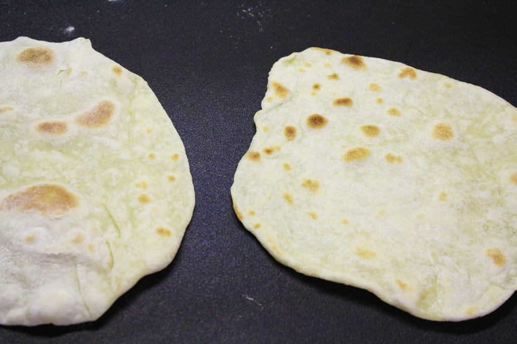 homemade tortillas cook