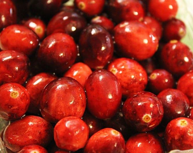 organic cranberries