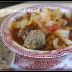 Cabbage Meatball Soup by Black Fox Homestead