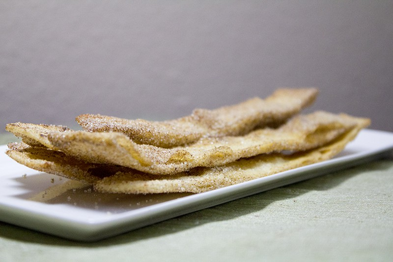 Cinnamon Tortilla Strips