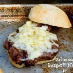 Caramelized Onion Burgersby Real Food Girl