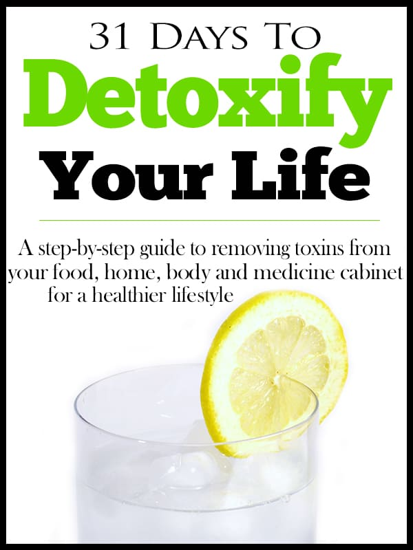 detoxify your life - water 3 matching font black border