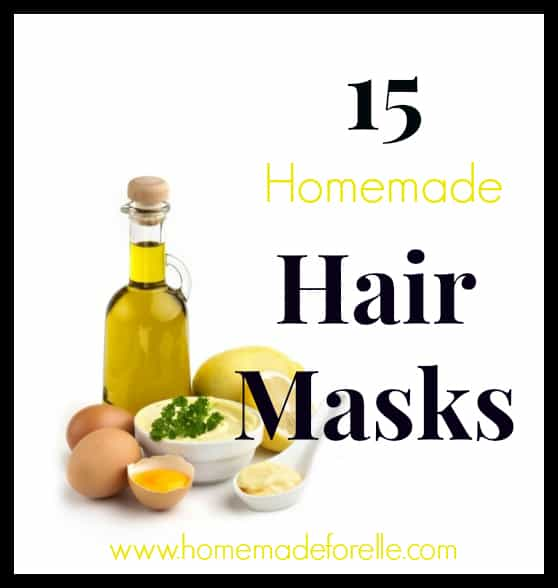 15 Homemade Hair Mask Recipes