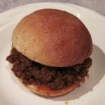 Sloppy Joes with homemadeBuns by Common Sense Home