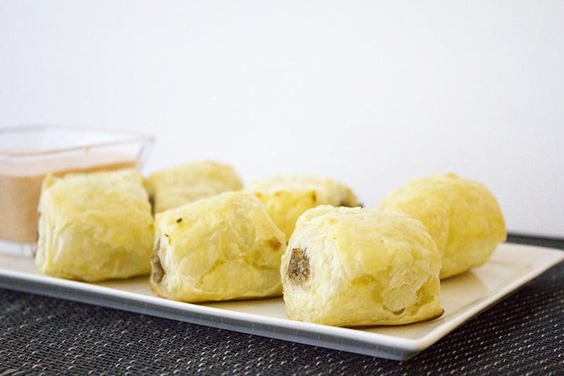 homemade sausage rolls 4