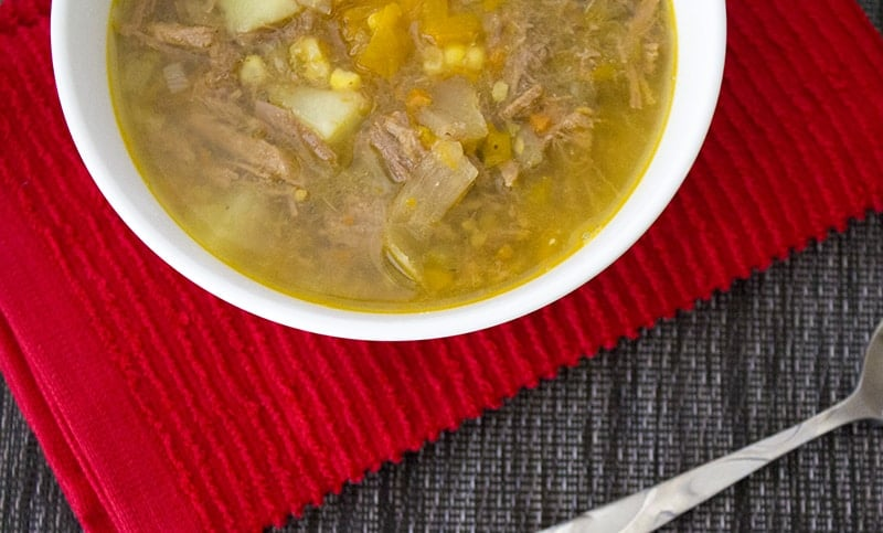 Homemade Vegetable Beef Soup 2