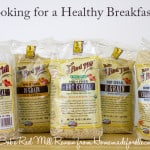 Healthy Breakfast Options – Hot Cereals from Bob's Red Mill