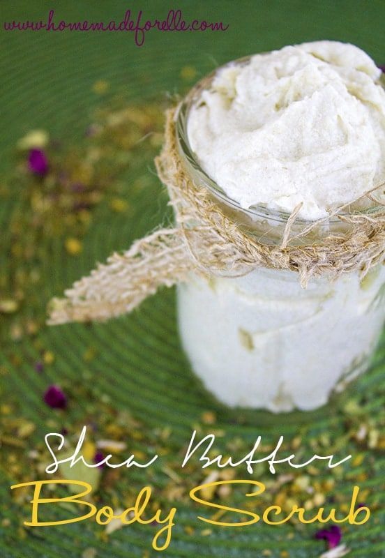 shea butter body scrub watermark