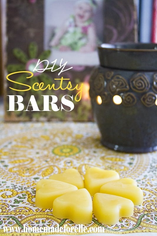 DIY Scentsy Bars