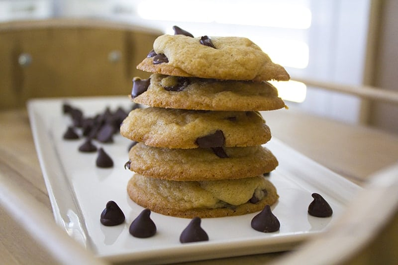 Homemade Chocolate Chip Cookie Recipe from Homemade for Elle
